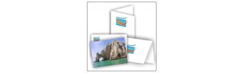 Cartes postales/pliées