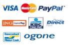 Visa, MasterCard, PayPal, ING, KBC, Ogone, ...